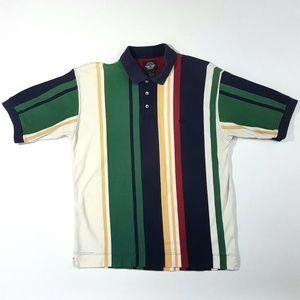 Vintage Dockers Men's Polo Size:L